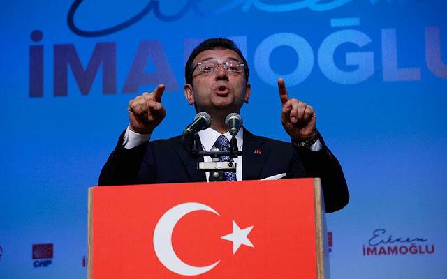 Τουρκία: Προβάδισμα Ιμάμογλου στον δήμο της Κωνσταντινούπολης
