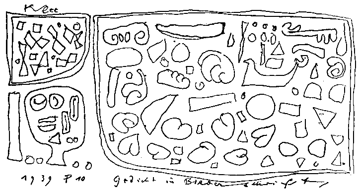 Abstract Comics The Blog Composition By Paul Klee
