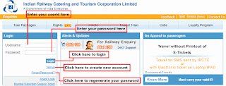 Tips on how to create new IRCTC account and IRCTC registration successfully, Tips on how to successfully complete IRCTC login, Tips on how to do Tatkal ticket booking, Tips to check PNR status