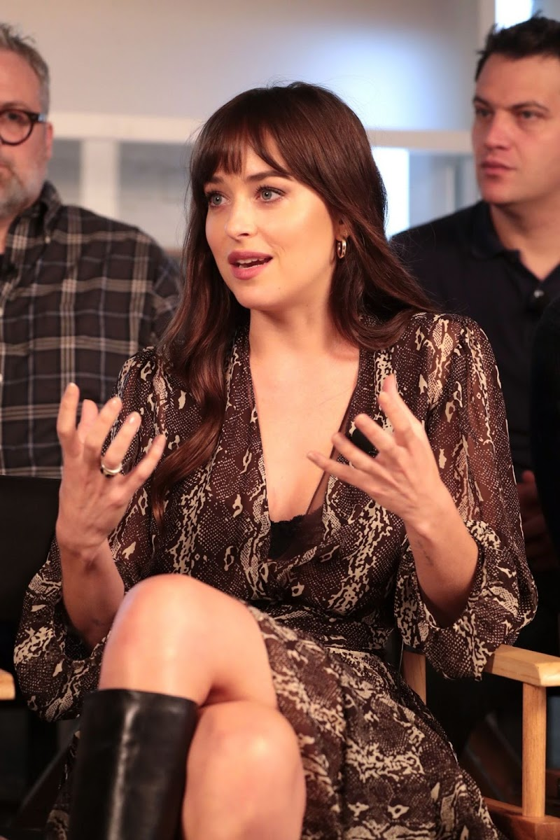 Dakota Johnson Clciks at RBC and Nespresso Host Coffee with Creators for The Friend Presented by Deadline 7 Sep-2019