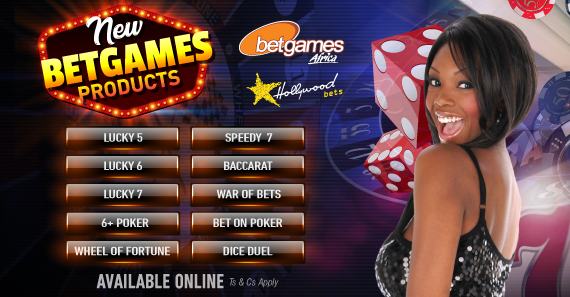 Betgames Africa draws offered by Hollywoodbets