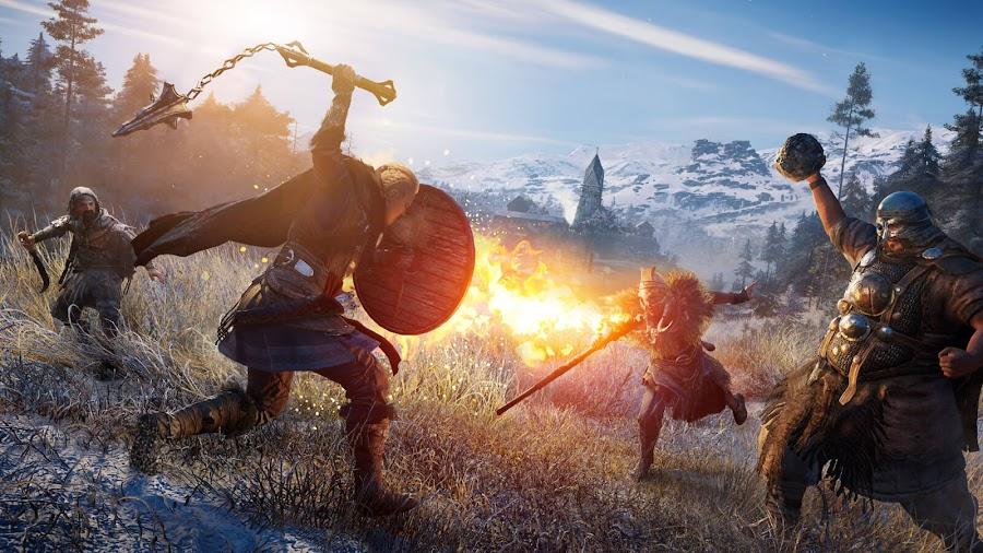 assassin's creed valhalla enemy archetypes gameplay overview viking eivor pc ps4 ps5 xb1 xsx eivor action-adventure stealth game ubisoft