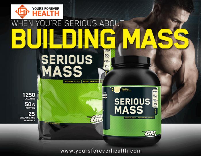 serious mass protein powder