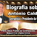 Biografia sobre António Caldas - Jornalista e Presidente da CCGA