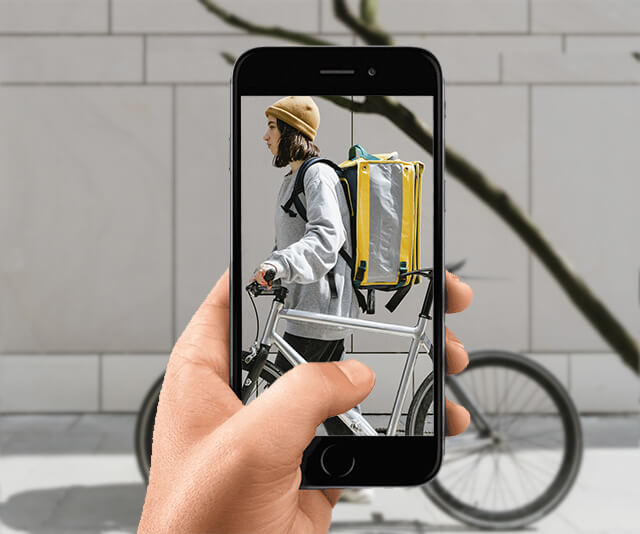 Usando o celular criar um aplicativo de entrega