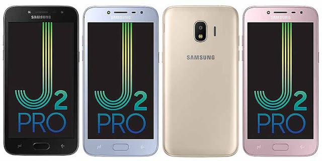 Spesifikasi dan Harga Samsung Galaxy J2 Pro 2018