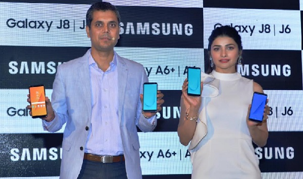 Samsung launches new galaxy J&A Smartphones with infinity display and chat over video