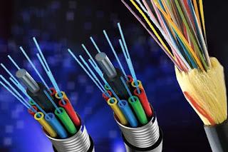 fiber optic cable in hindi