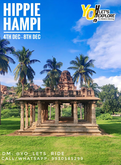 Hippie Hampi Ride 4th - 8th December 2020 | Register Now | Yo Let's Ride