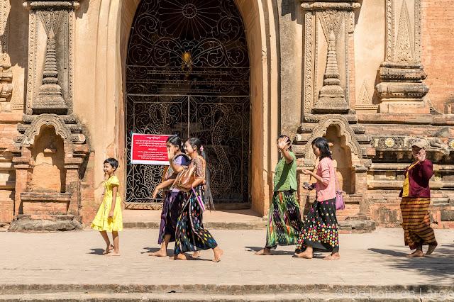Sulamani temple - Bagan - Myanmar - Birmanie