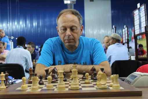 Igor Berezovsky aux Olympiades d'échecs 2018 de Batoumi en Géorgie - Photo © Chess & Strategy