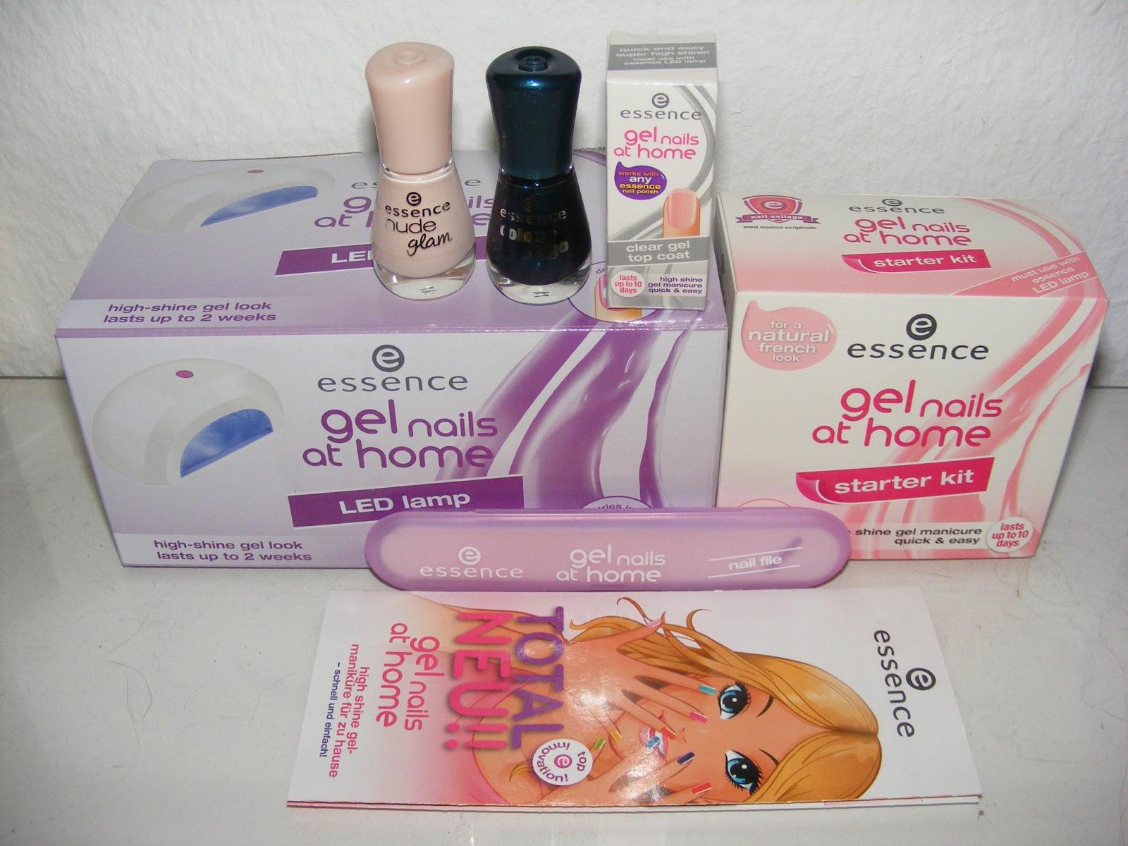 bibas b tises produkttest essence gel nails at home. Black Bedroom Furniture Sets. Home Design Ideas