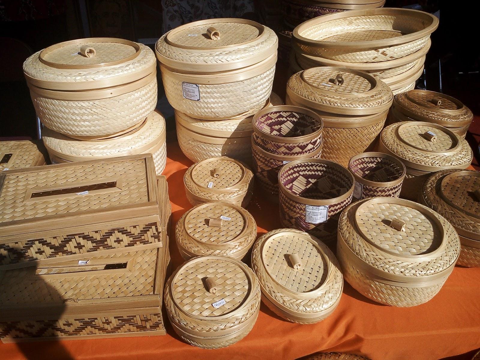 Gambar Produk Kerajinan Dari Bahan Bambu