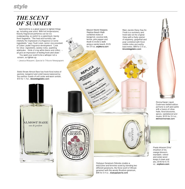 The Scent of Summer by Jessica Moazami featured in the LA Times