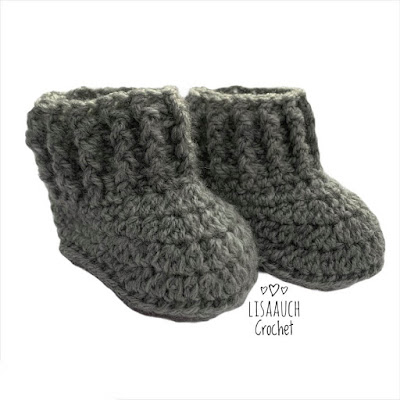 crochet baby booites free crochet pattern baby booties
