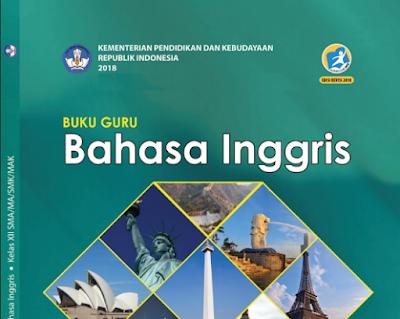 Download teladan RPP Bahasa Inggris Kelas 12 Kurikulum 2013 Revisi 2018