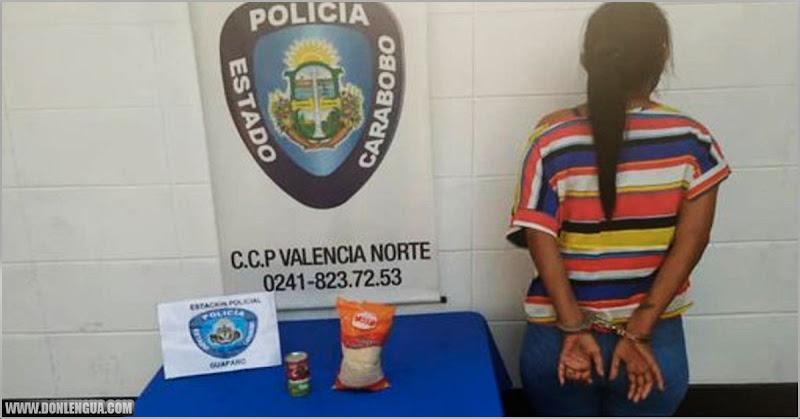 A LA HORCA | Detenida por robarse un kilo de arroz y una salsa para pastas