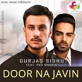 Door Na Javin Lyrics - Gurjas Sidhu