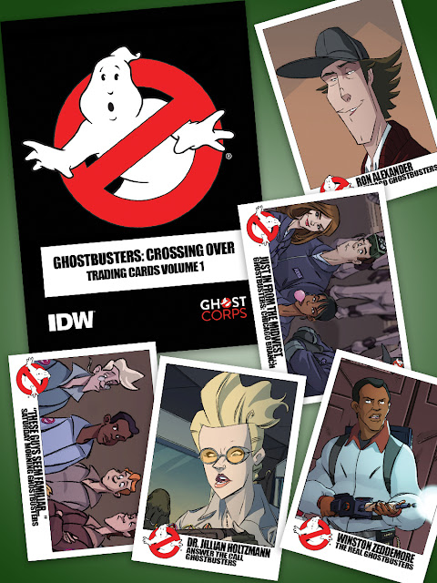 Ghostbusters Trading Card Set