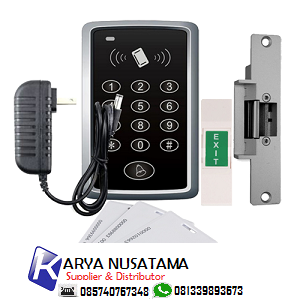 Jual Door Access Proximity PIN Reader Electric Strike di Malang