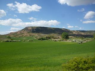 Cerro Picarón. Valle del río Badiel