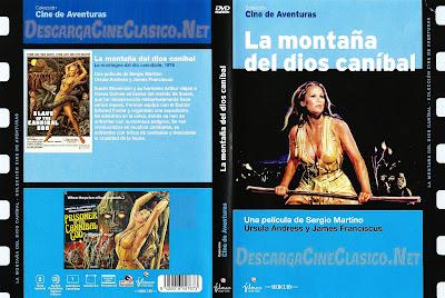 Carátula DVD: La montaña del Dios Canibal (1978) - cineclasicodcc - Online