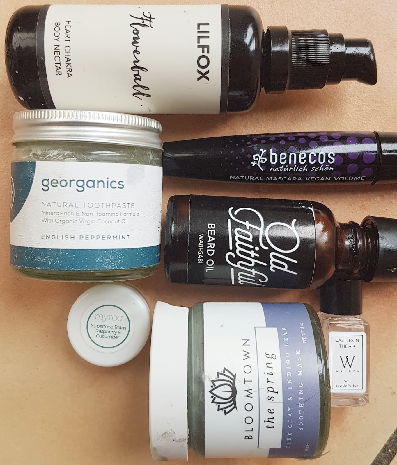 May Beauty Empties - Natural Skincare + Wellbeing Products