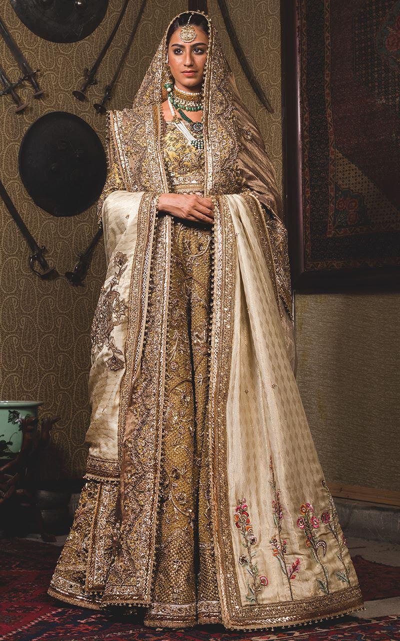 Fahad Hussayn Swarovski Bridal Outfit