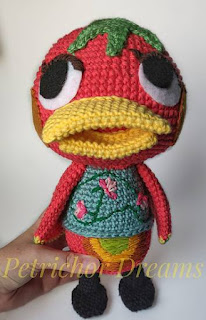 PATRON GRATIS KETCHUP | ANIMAL CROSSING AMIGURUMI 39811