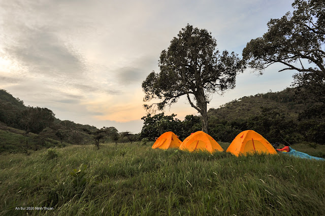 Camping in Nui Chua National Park