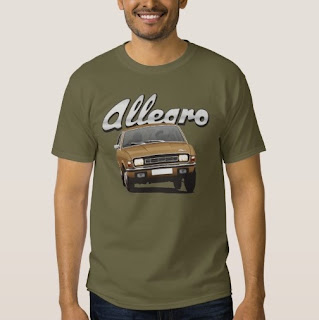 Austin Allegro t-paita Zazzle
