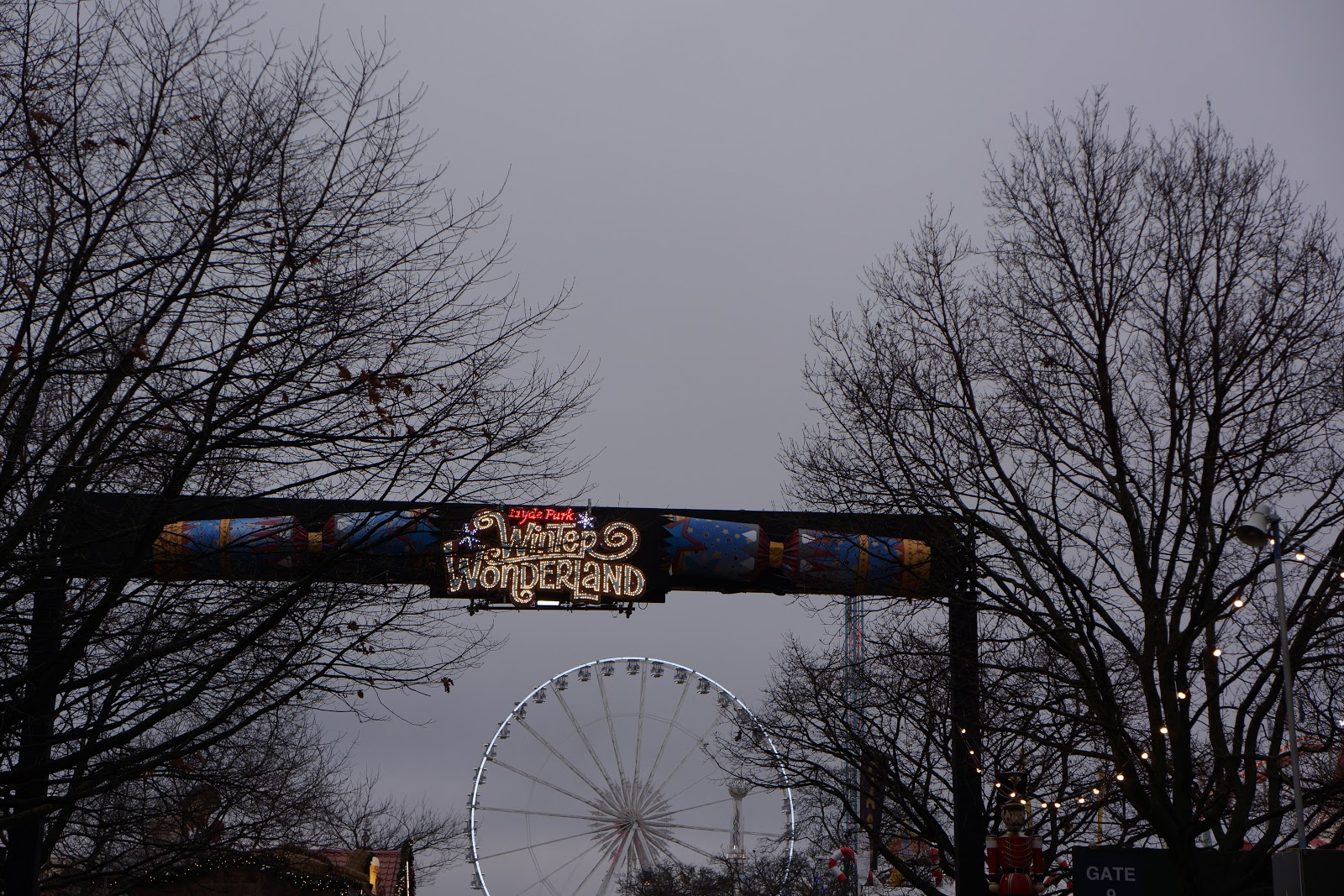 winter wonderland sign