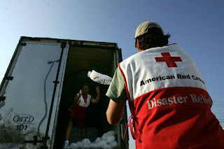 The International Federation of Red Cross and Red Crescent Societies has a Climate Centre staffed with climate scientists who help it prepare for future disasters and reduce the impacts of climate change on vulnerable people. (Credit: Spencer Platt/Getty Images) Click to Enlarge.