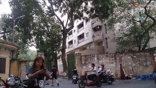 Hà Nội: Nam sinh ĐH Thủy Lợi bất ngờ nhảy từ tầng 7 tự tử