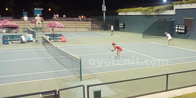 Libas Petenis Unggulan, Priska Melenggang ke Perempat Final Turnamen ITF J1 Nanjing