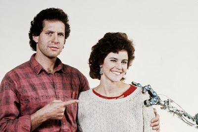 Steve Guttenberg en 'Cortocircuito'