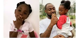 Davido's Daughter Imade Sends Father's Day Greetings To Her Dad