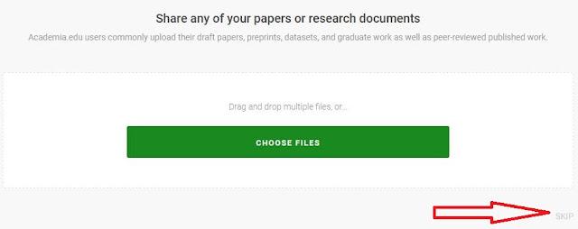 Halaman Upload PDF Academia.Edu