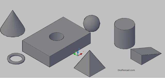 Belajar Autocad 3D - teori dasar