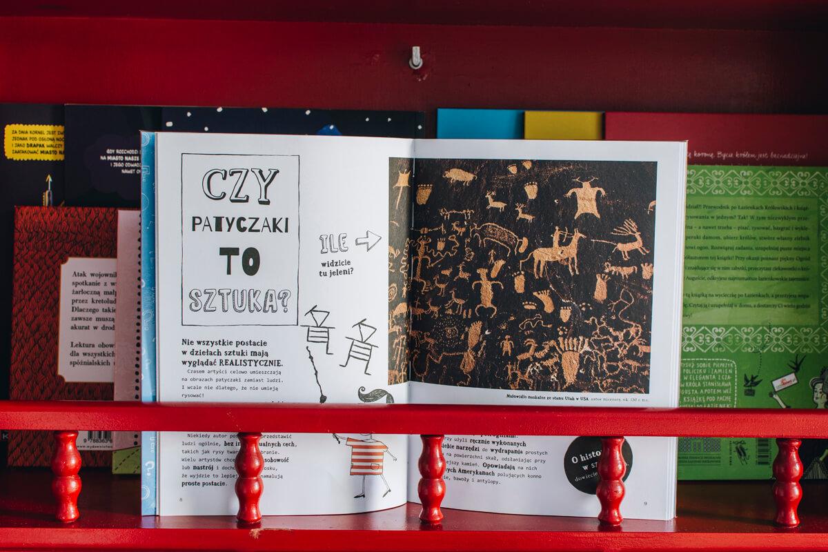 książeczka dla dzieci o sztuce