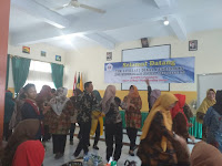 Kunjungan Tim Literasi Dinas Pendidikan Kota Tanjungpinang Provinsi Riau