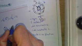 équilibre d'un corps solide en rotation autour d'un axe fixe-Tronc commun.
