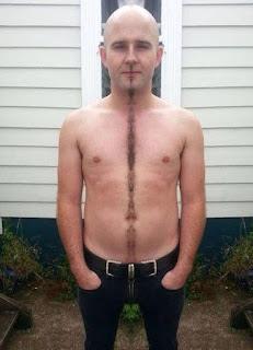 Las peores depilaciones masculinas - La línea sin sentido