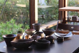 山野草鉢・陶板