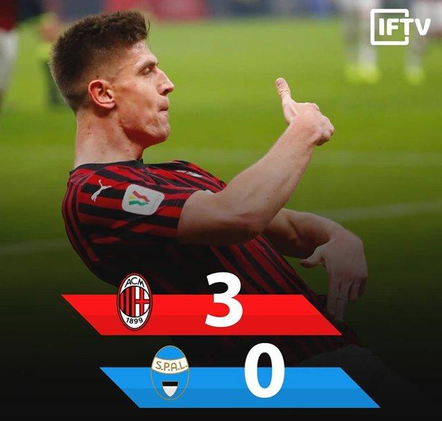 AC Milan Vs SPAL-IGitalianfootballtv