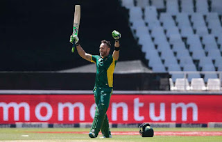 Faf du Plessis 111 - South Africa vs Australia 2nd ODI 2016 Highlights