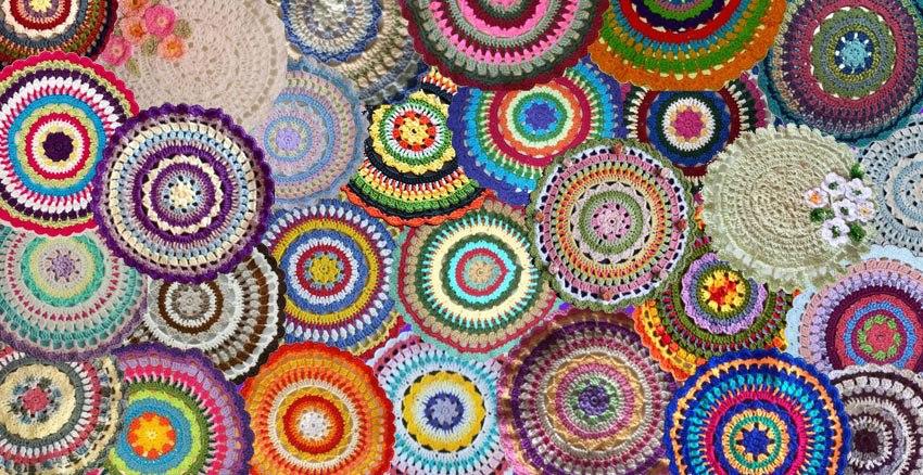 Crochetkari Crochet Mandala Rising Sun