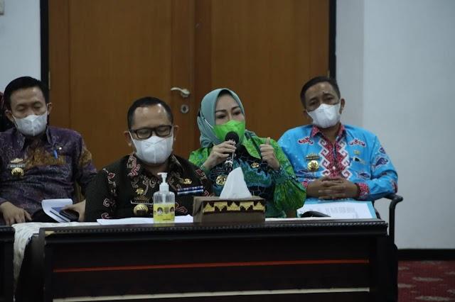 Tindaklanjuti Arahan Presiden, Pemprov Lampung Gelar Rapat Koordinasi Penanggulangan Covid-19