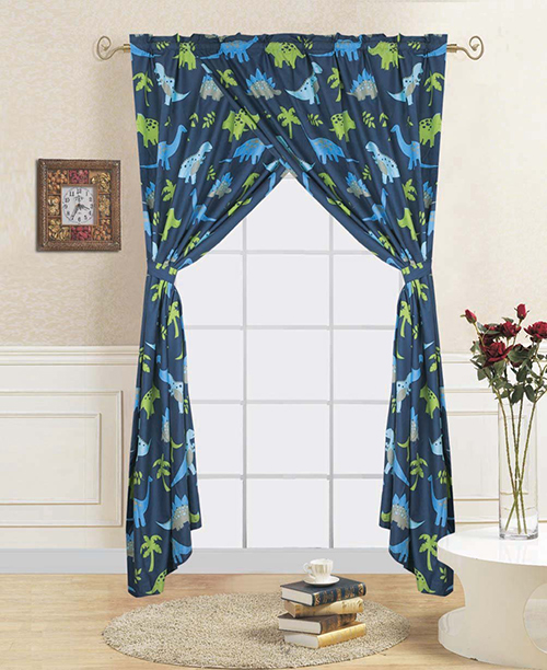 Dinosaur Curtain