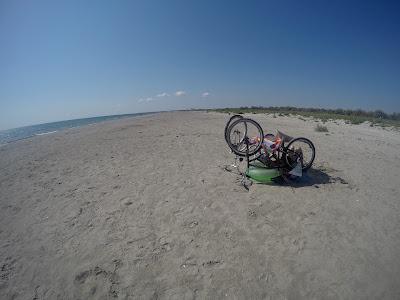 Bezludna plaża w Sulinie